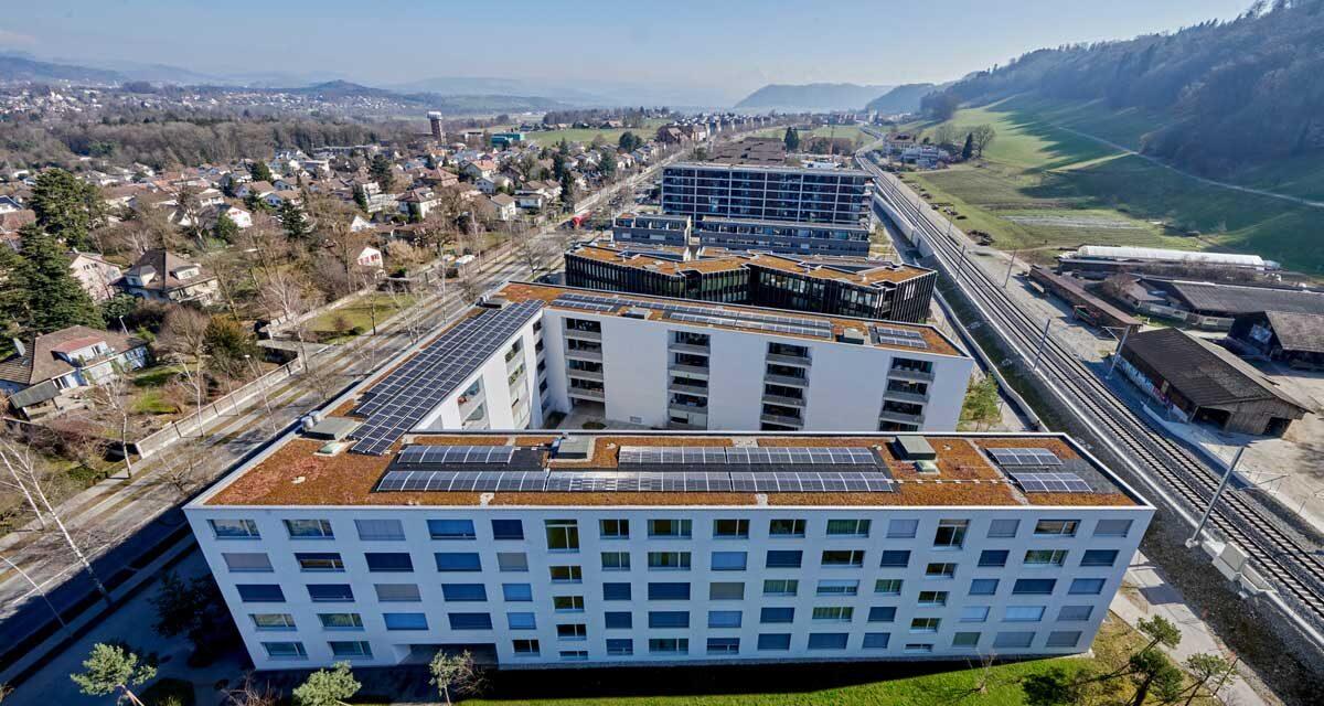 Wie ein ganzes Areal von Solarstrom profitiert